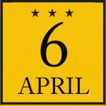 logo 6 april